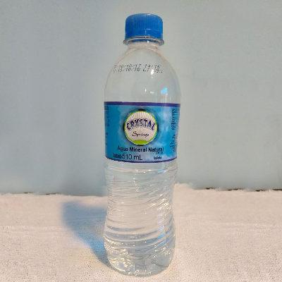 Água Sem Gás 510ml – Crystal Springs