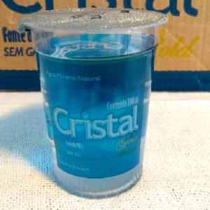Água em Copo 210ml – Caixa c/ 48 unidades